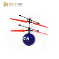 Radio control ufo toy flying ball helicopter