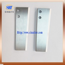 Ultra thin cemented carbide cutting blade/ knife