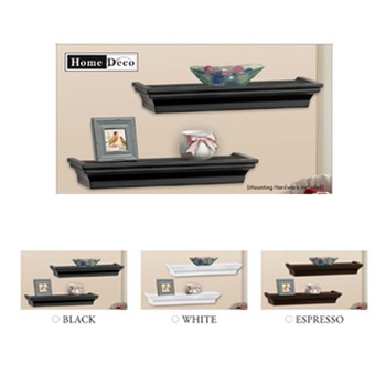 high quality floating plastic wall shelf for home decor