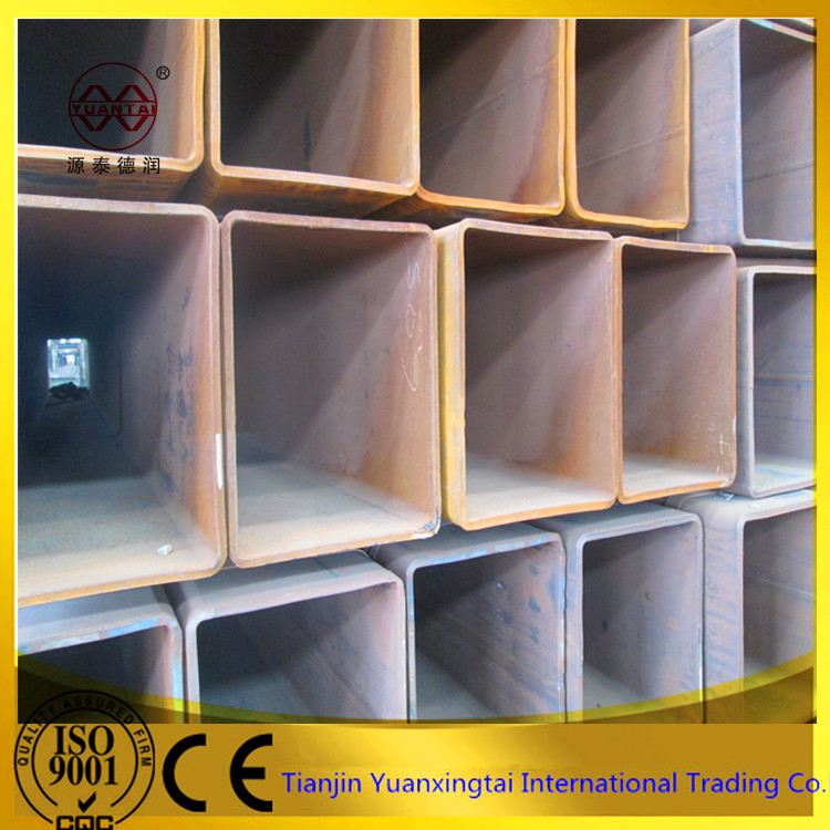 factory price square hollow box section, Q235 square tube