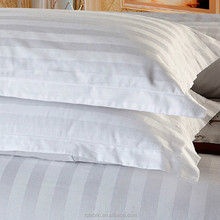 hotel bed sheet 3cm stripe satin fabric 100 cotton wide width