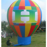 giant inflatable ground balloon