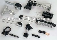 PE1500 electric power line accessories/end post