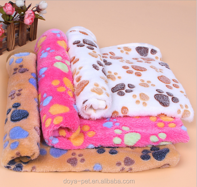 Cheap pet blankets for sale, cute cat beds mat, dog single bed blanket