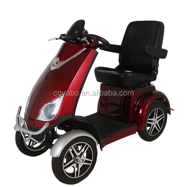 48V800W Hot sale 4 wheel electrical mobility scooter with low price for adult