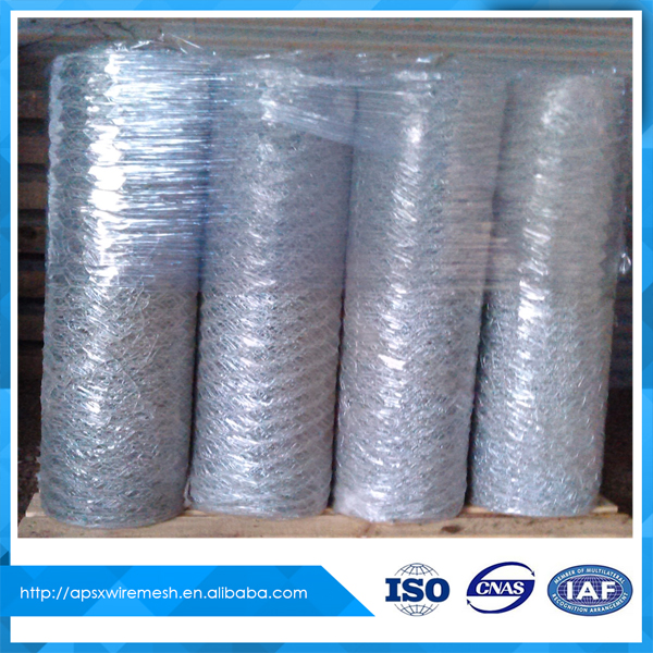 Galvanised Hexagonal wire netting uses chicken mesh
