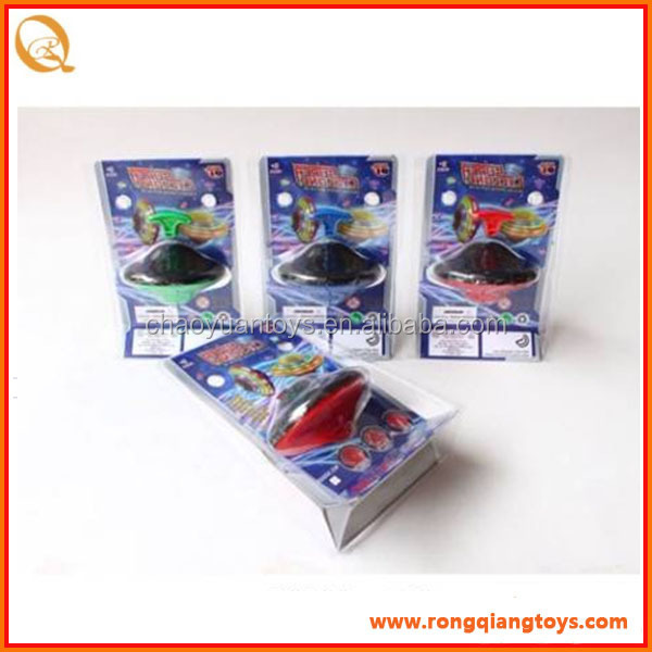 HOT SALE cheap electronic light up spinning top kids spinning top with light music BO8386838B