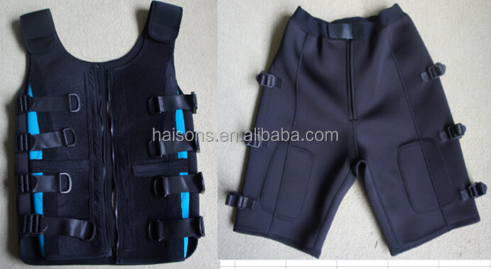 wireless EMS training suit,Electronic Muscle Stimulation waistcoat