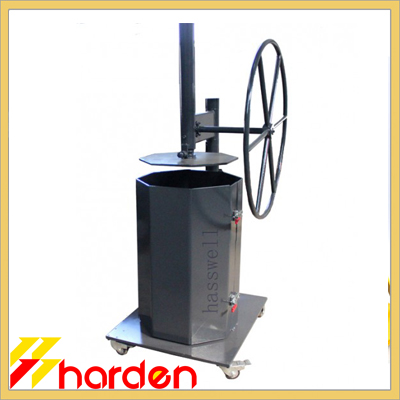 Hand Operated Compactor Mobie Manual Baler