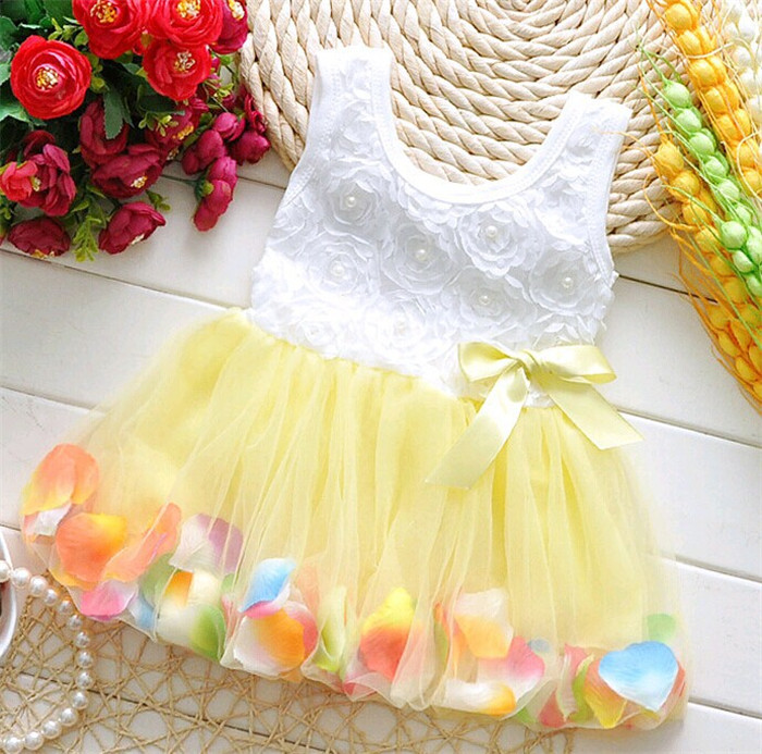 Customized fashion toddler dress new design 2 year old girl dress