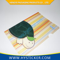 2015 Logo Printing PP File Folder With Flap