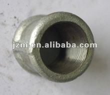 Galvanized Iron Sanitary Fitting, Coupling Full Threaded Concentric Equal---Factory Supply