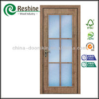 antic color glass interior pocket door
