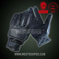 Archer cow leather full finger gloves