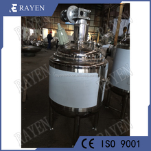 Sanitary stainless steel small pressure vessels fermentation reactor