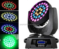 Led 6 in 1moving head RGBWYP,led moving head light with zoom