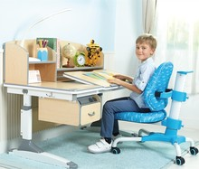 Height adjustable kids study table and chair HY-C120