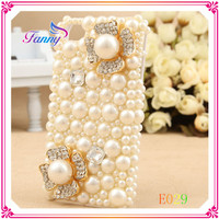 E029 Promotional Fancy pearl jewelry Cell Phone Case