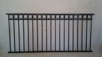 Modern house used steel fence panel