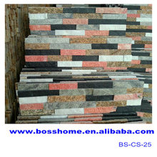 Colorful culture stone bathroom wall tile designs