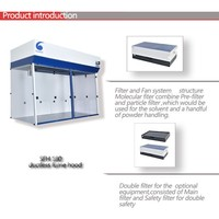High quality ductless fume hood, steel portable ductless fume hood