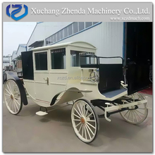 Alibaba Manufacturer Princess royal Horse Wagon Carriage/ Horse Drawn Cart for Sale