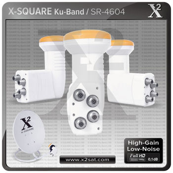 Ku Band 4 Output Universal Quad LNB