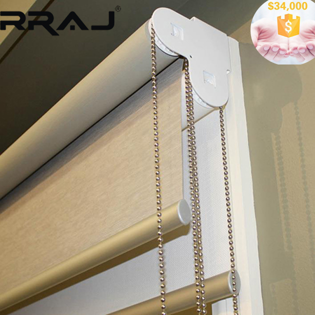 RRAJ Double Sun Shade Office Window Curtain