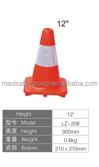 Factory Price High Standard Salable Orange Warning PVC Traffic Cones