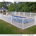 high security white plastic used pool fence