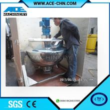 Food Paste Cooker, Sauce Cooking Machinery Cooking Vessel