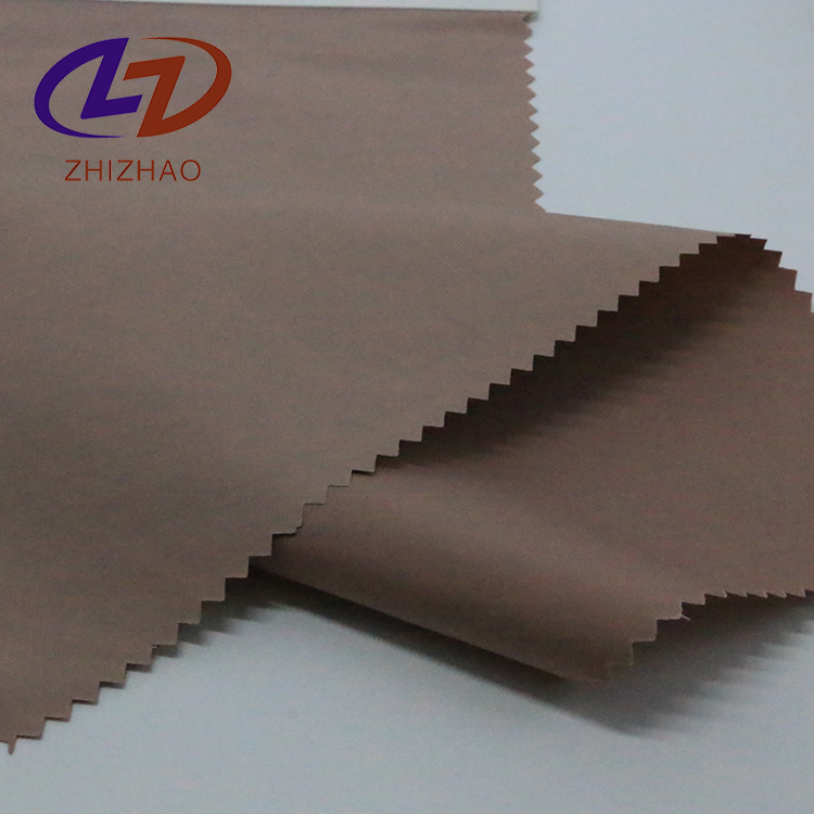 100 polyester pu coating pongee lining woven fabric for Lining