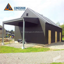 Rust Prevention Prefabricated prefabricated steel garage building