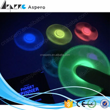 Aspero Hot sale Fidget Spinner With 608 Ceramic Bearings fidget spinner glowing tri-spinner
