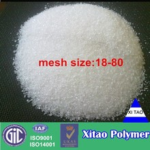 Water retention polymer agent for golf course & turf maintence