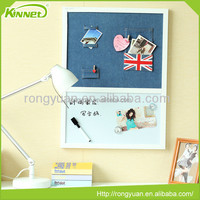 Decorative bulletin message metal magnetic message board