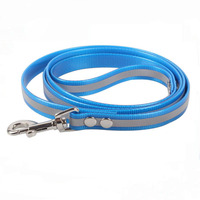 Strong Tensile Reflective Blue TPU Hunting Dog Leash