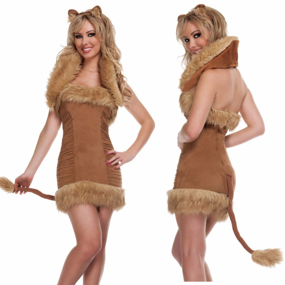 Hot selling cheap funny animals unique carnival suit party wear sexy women carnival catwoman costume