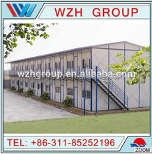 China supplier 21 century new economical green design hotel building modular prefab house