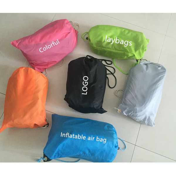 2016 New Coming Fast inflatable lightweight Outdoor Inflatable lamzac hangout in sleeping bags