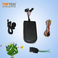 Real time GSM/GPRS/GPS tracker for motorcycle/car with water proof design and tracking software