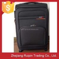 High End Best Quality Fashion 2 Wheels Fashion Fabric Luggage from Zhejiang, eminent unique luggage sets