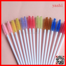 Alibaba fashion colorful makeup Applicator brushes diposable mascara set for Christmas