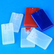 Red Blue Plastic Spray Hand Sanitizer Case