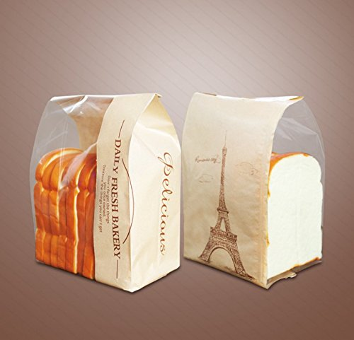 Paper Bread Bag Reusable Keep Fresh and Clean Bread Storage Bag
