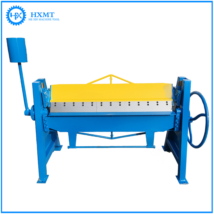 High Efficient Small Labor Saving Carbon Steel Manual Bending Folding Machine