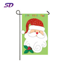 High Quality Customized Wholesale Christmas Garden Flags