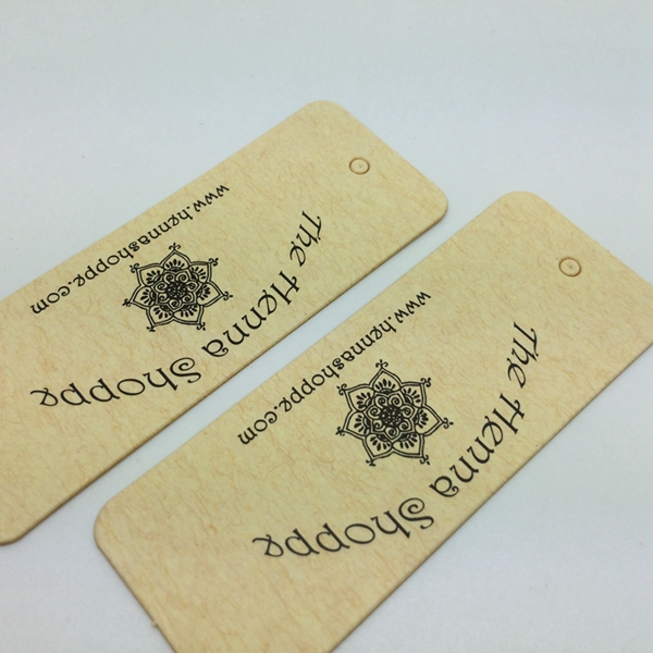 UV Folding hang tags for handbags airline paper baggage tag
