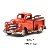 Art Collectible Antique Tin Models Car, pickup truck metal model, car toys