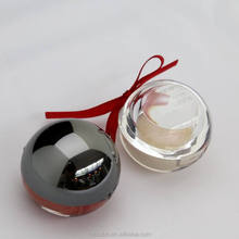 Shiny Ball Shape Lip Balm Lip Gloss OEM make your own lip gloss